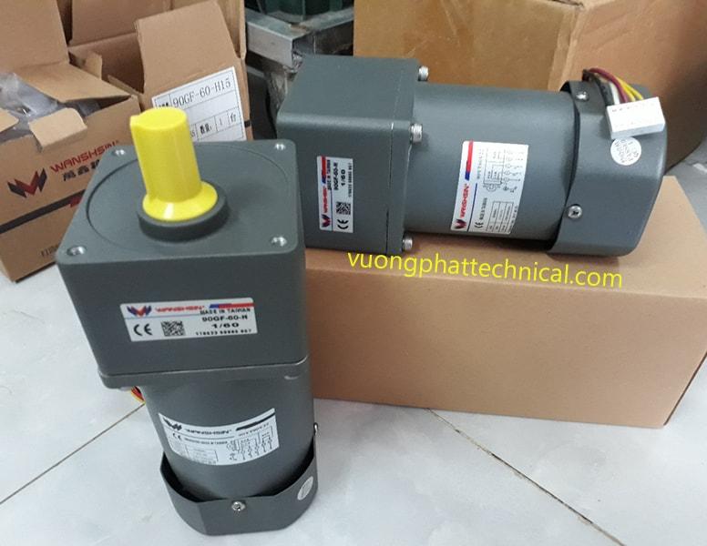 Motor giảm tốc mini Wanshsin 90W
