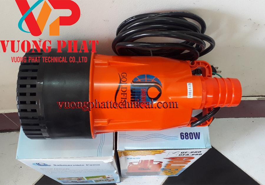 Bơm chìm nước thải GF-680