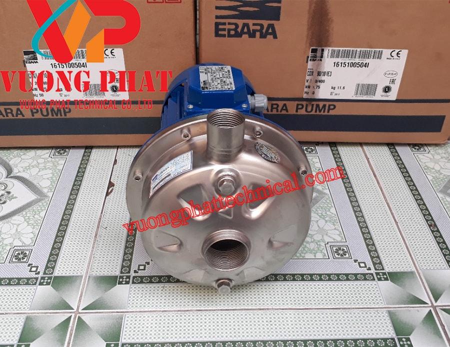 Bơm ly tâm trục ngang Ebara CDX 120/12