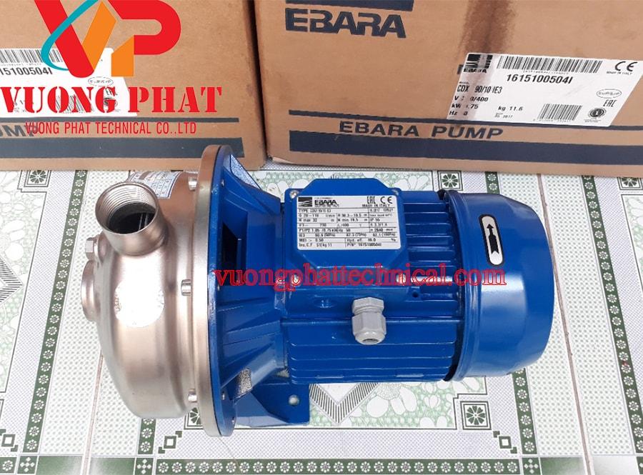 Bơm ly tâm trục ngang Ebara CDX 200/25