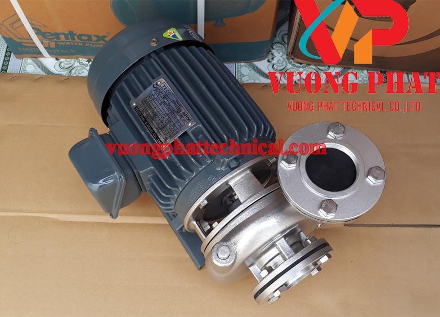 Bơm ly tâm trục ngang đầu inox Teco G-31-40 1HP