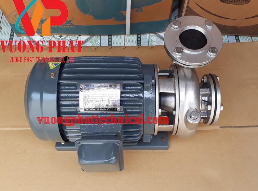 Bơm ly tâm trục ngang đầu inox Teco G-32-50 2HP
