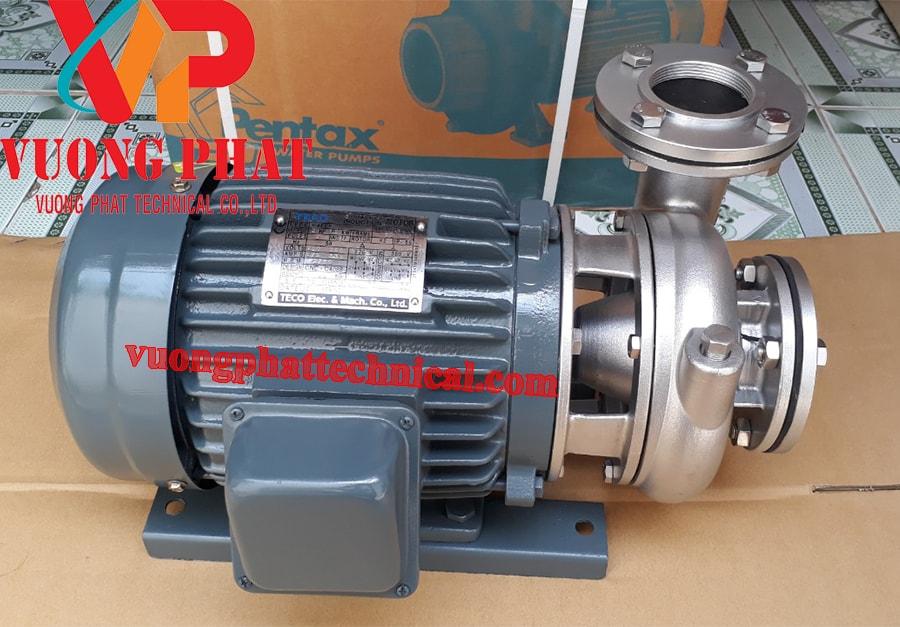 Bơm ly tâm trục ngang đầu inox Teco G-33-80 3HP