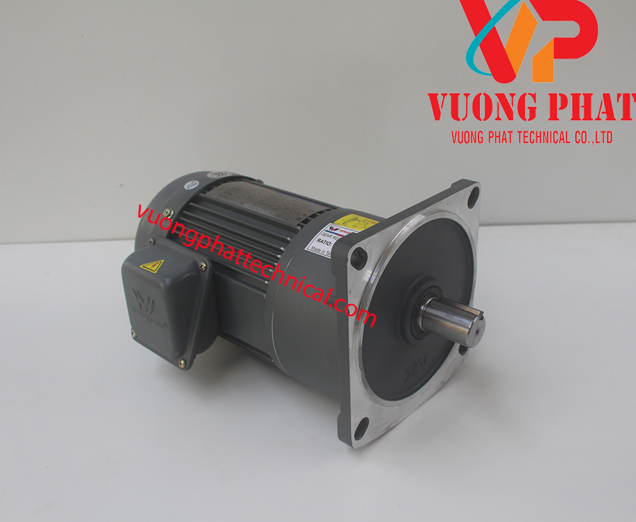Motor giảm tốc Wanshsin mặt bích 1/2HP