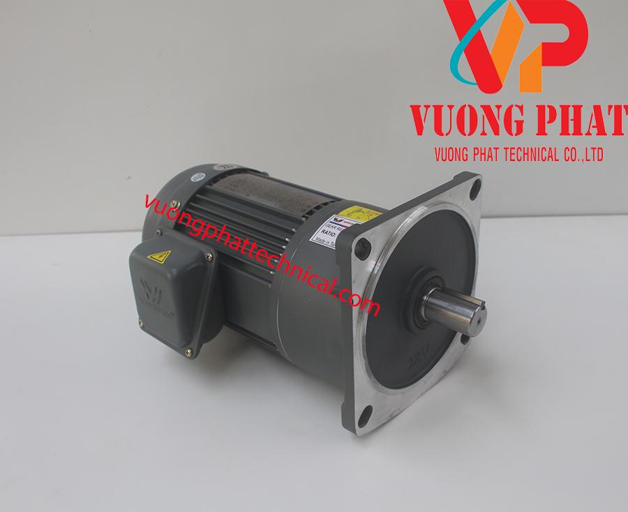 Motor giảm tốc wanshsin mặt bích 1HP